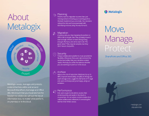 About Metalogix - Influential Partners | Move, Manage, Protect. SharePoint and Office 365.